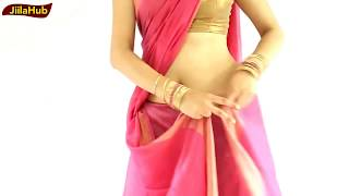 How To Wear Indian Intricate Saree Very Easily withIn 3 Mints:Sari Drape