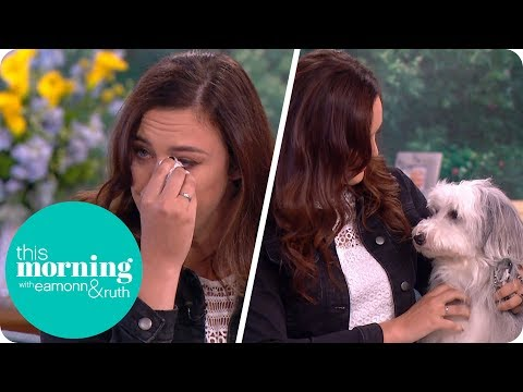 Xxx Mp4 Pudsey The Dog S Owner Ashleigh Butler Emotionally Remembers Her BGT Winning Friend This Morning 3gp Sex