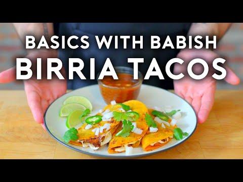 Birria Tacos Basics with Babish