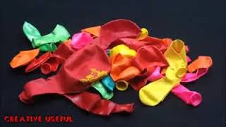 ابتكارات حديثة باستخدام البالون الخاص للاطفال