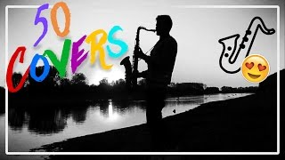BEST 50 POP SONGS OF 2016 - SAXOPHONE COVER COMPILATION