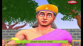 Birbal and Singer | 3D Birbal Stories For Kids in English | Akbar and Birbal Stories
