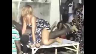 Danse de la séduction en Afrique