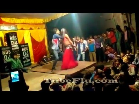 Bhojpuri Hot Sexy Arkestra Stage Dance Show Video Song #19