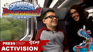 [VLOG] Skylanders SuperChargers : Press Trip Activision Paris - Family Geek