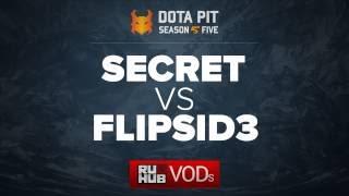 Secret vs Flipsid3, Dota Pit Season 5, game 2