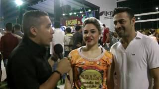 TV ISPIA - Emanuelle Freitas e Nelson de Castro no Maior Ensaio de Quadrilhas Juninas do Mundo