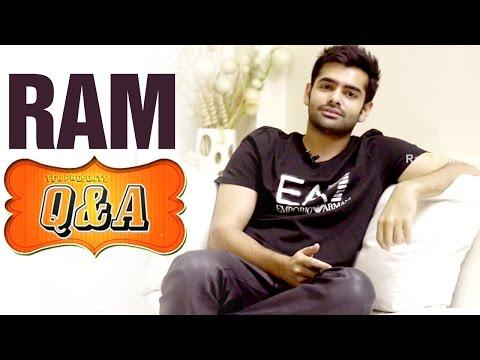 Ram Pothineni Q & A with Facebook Fans | Actor Ram Q&A