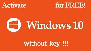 Activate Windows 10 For FREE - Windows 10 Permanent Activator Easiest Way[Pro/Enterprise/Home]