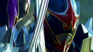 Power Rangers - Koragg vs Wolf Warrior Fight (Power Rangers Mystic Force)