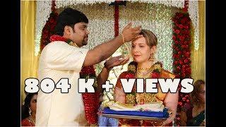 Indo Finnish wedding in Kerala Tradition