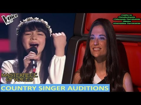 BEST COUNTRY SINGERS IN THE VOICE KIDS