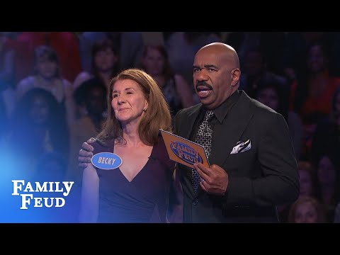Phil racks up 171 points Can Becky close out Fast Money for 20 000 Family Feud
