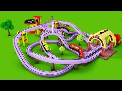 Xxx Mp4 Train For Kids Kids Railway Toy Videos Choo Train Cartoon Toy Factory Cartoon 3gp Sex