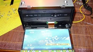 How to repair Flex ribbon cable 0,5mm from JVC AVX800 2DIN car audio head unit