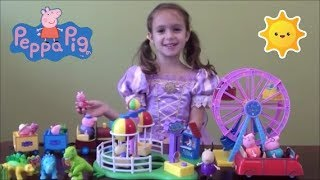 Peppa Pig Compilation: Story Time with Peppa Pig Happy Family and Friends and Princess Peppa Castle