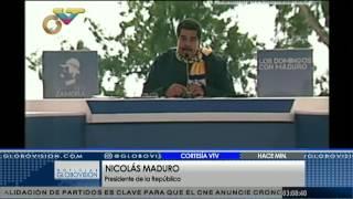 Nicolás Maduro: Venezuela no quiere tranca, quiere es trabajo