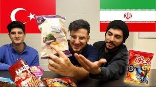 Trying PERSIAN Snacks!!