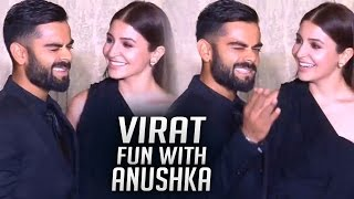 Virat Kohli Making Fun With Anushka Sharma | Unseen video | TFPC