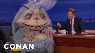 Conan Interviews Gorburger  - CONAN on TBS