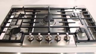 Bosch 800 Series 5-burner Gas Cooktop