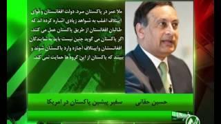 سفیر پیشین پاکستان در امریکا تایید میکند که بسیاری از اعضای شبکه حقانی در پاکستان به سر می برند