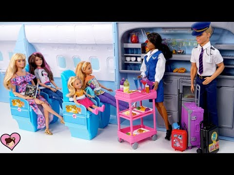 Xxx Mp4 Barbie Amp Sisters Airplane Travel Adventure Barbie Doll Holiday Family Vacation Movie 3gp Sex