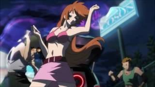 Cyborg 009 vs Devilman Lilith Possession/Transformation