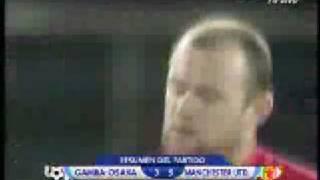 Club World Cup semi-final Gamba Osaka 3-5 Manchester United