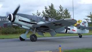 Roskilde Airshow 2013, Messerschmitt Me 109 G-4, the flight