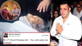 Salman Khan Remembers Vinod Khanna With This Epic Pic