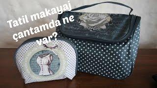 Makyaj Çantamda Ne Var? || Tatil