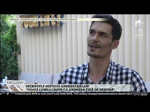 """Secretele soțului Andreei Bălan. George Burcea: """"N-am fost fan Andre, ci 3 Sud Est"""""""