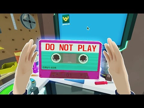 FINDING THE TOP SECRET MIX TAPE Rick and Morty Virtual Rick ality VR 2018 Gameplay