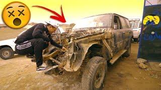 تجربة جديدة   صرت ميكانيكي سيارات وجبت العيد !!! 😂