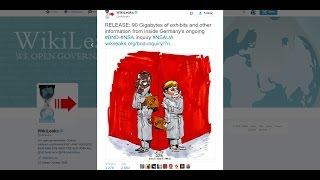 PTV News 2 Dicembre 2016 - Wikileaks scopre un grave scandalo governativo in Germania