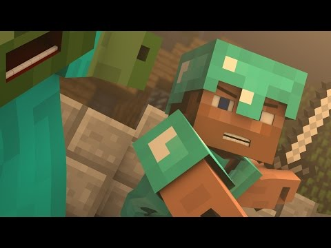 ♪ Evil Mobs A Minecraft Parody of Animals By Maroon 5 Music Video