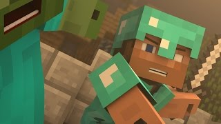 """♪ """"Evil Mobs"""" - A Minecraft Parody of Animals By Maroon 5 (Music Video)"""