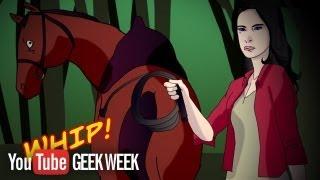 Wonder Woman Loves Horses, Skulls: YouTube Geek Week