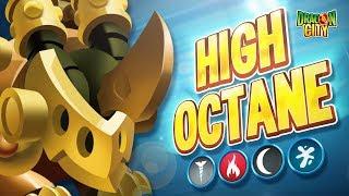 The High Octane Dragon!!  Heroic Race: Factory - Dragon City