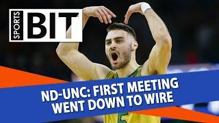 Notre Dame Fighting Irish at North Carolina Tar Heels   Sports BIT   NCAAB Picks