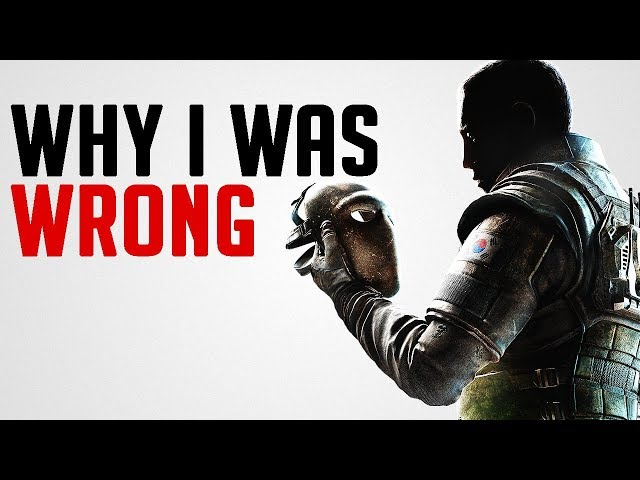 I Was Wrong About Rainbow Six Siege