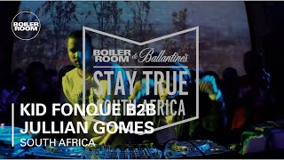 Kid Fonque B2B Jullian Gomes Boiler Room x Ballantine's Stay True South Africa: Part Two DJ Set