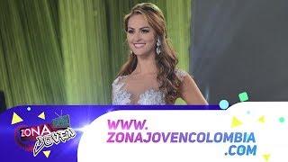 María Camila Soleibe Reina Hispanoamericana 2016 estuvo en Zona Joven