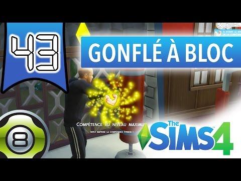 Les Sims 4 FR - Ep 43 - Réussite Gonflé à bloc (Compétence Fitness)