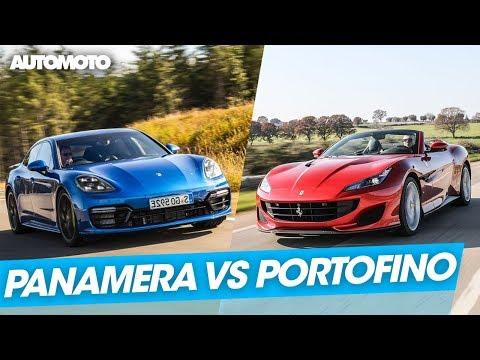Duel Porsche Panamera vs Ferrari Portofino