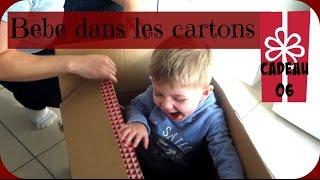 Vlogmas - je mets mon fils en carton - vlog famille