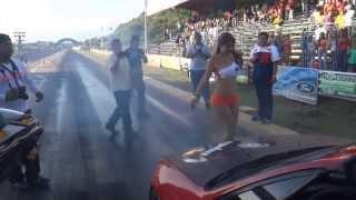 Pique del Honda CRX de La Ceiba con Angela