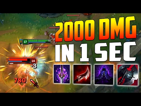 NEW OP MAX LETHALITY VI [ 2000+ DMG IN 1 SECOND ] LoL Vi Gameplay Lozo