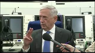 Defense Secretary Mattis debriefs: Syria Turkey Afrin Kurds Russia ISIS Iraq